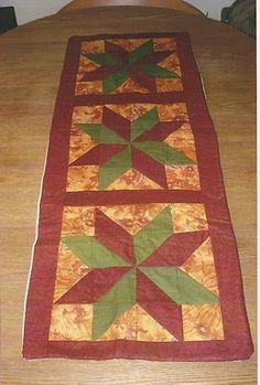 Fall Sunflower Design Table Runner