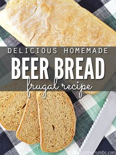 Beer+Bread:+Easy+Homemade+Recipe+You'll+Love