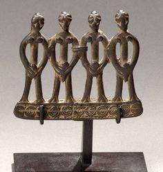 Ivory Coast | Pendant from the Senufo people | Bronze alloy