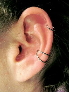 Conch piercing- Rooney Mara | nice piercings | Pinterest