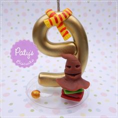 Vela decorada Harry Potter - Festa Infantil - Paty's Biscuit