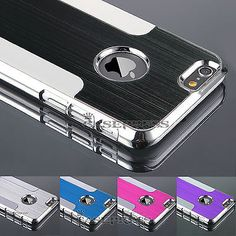 "For iPhone 6 4 7"" Ultra Slim Metal Aluminium PC Hard Back Case Cover Skin   eBay"