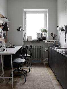 A Nice Home Office Makeover by IKEA Stylists | Poppytalk