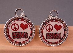 Tile Earrings Alabama Earrings Tile Jewelry Football Jewelry Sports Jewelry Beaded Jewelry. $10.00, via Etsy.