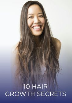 Check out these helpful hair growth tips for long locks in no time.