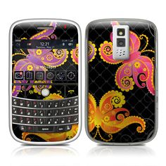 BlackBerry Bold 9000 Skin - Flutterbyes by Elena Andreeva