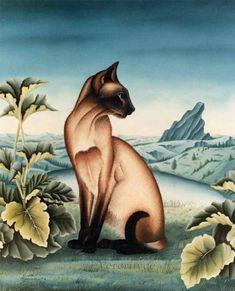 Cat portraits. Bernard Vercruyce