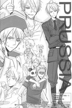 Hetalia - Prussia (AKA: MR. AWESOME)< this nickname actually made me smile....like alot