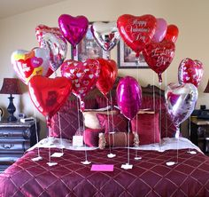 Romantic Bedroom for Vday or Sweetest day