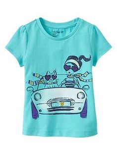 Embroidered graphic T Kids Wear, Children Wear, Girl Sketch, Gap Kids, Summer Shirts, Kids Outfits, Kids Fashion, Graphic Tees, Clothing Ideas