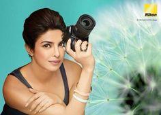 Priyanka Chopra For Nikon Print Ad