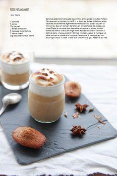 Pause Gourmande: Petits pots meringués et madeleines aux épices douces
