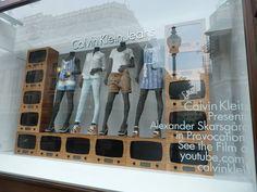 Window Visual Merchandising | VM | Window Display | Calvin Klein