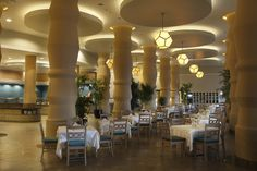The Main Restaurant. Chic & elegant.