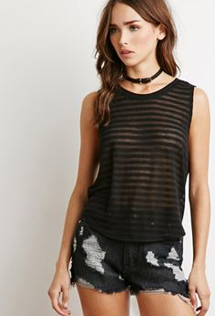 Shadow Stripe Knit Top | Forever 21 - 2000155876 #forever21