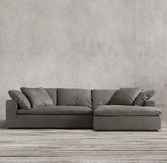 Sat on this couch...so comfortable!! Cloud Track Arm Sofas | Restoration Hardware http://ibeebz.com