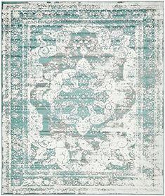 Traditional Persian Vintage Design Rug Gray Rug Turquoise... https://www.amazon.com/dp/B01N7YPJ20/ref=cm_sw_r_pi_dp_x_OqO0ybHVED29T
