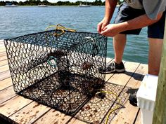 Crabbing in Beaufort, North Carolina. (Photo by Betsy Cartier) Lobster Fishing, Travel Magazines, Fishing Boats, Small Towns, Cartier, North Carolina, Coast, America, Usa