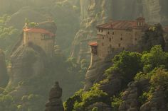Meteora, Greece by Jim Nilsen