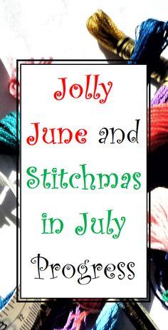 Progress of having fun in June and Christmas themed cross stitch. Back Stitch, Cross Stitch, I Miss My Boyfriend, Working On It, Pink Fabric, Girls Be Like, Christmas Themes, Make Me Happy, Losing Me