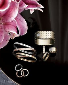 Bangles, Rings, & Earrings by Roberto Coin at Neiman Marcus.
