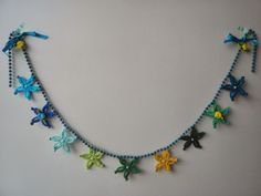 Free crochet pattern for floral garland( with link)