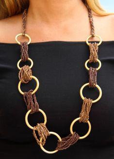 Collana Decorata Di Letyrebcreation Su E - Diy Crafts - DIY & Crafts Textile Jewelry, Bead Jewellery, Fabric Jewelry, Wire Jewelry, Boho Jewelry, Jewelry Crafts, Beaded Jewelry, Jewelery, Handmade Jewelry