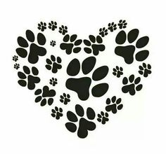 Dogs paw tattoo etsy 58 New ideas Animal Footprints, Amor Animal, Photo Chat, Le Far West, Dog Paws, Kitty Paws, Puppy Paw, Dog Quotes, I Love Dogs