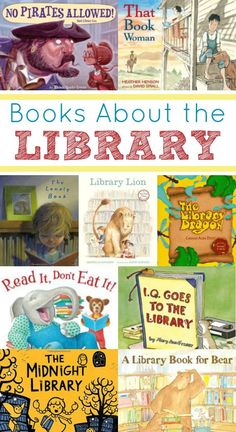 There are so many amazing things to discover on library shelves. These books about the library are all about the magic that can be found in a library. Library Lesson Plans, Library Skills, Library Books, Library Shelves, Library Ideas, Library Rules, Kids Library, Book Shelves, Teaching Reading