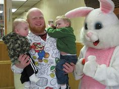 Easter bunny breakfast with the boys!