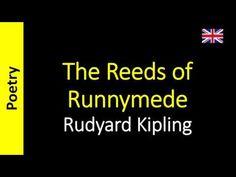 Poesia - Sanderlei Silveira: Rudyard Kipling - The Reeds of Runnymede