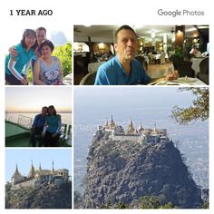 20160105_133220eMtPopa-COLLAGE - 1 year ago today in #MountPopa, #Myanmar.