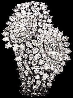 White gold Diamond Secret watch - Piaget Luxury Watch G0A34135