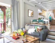 Omniscient easy as well as simple living room styles ideas as well as tips Start now Fresh Living Room, Simple Living Room, New Living Room, Living Room Styles, Living Room Designs, 1960s House Renovation, Style Salon, Living Room Decor Inspiration, Living Comedor