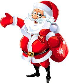 Transparent Mr Santa Claus Clipart