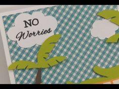 """NO WORRIES"" CARD - YouTube, Create A Critter, and. crocodile lite"