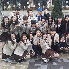 cheer up | Tumblr Sassy Go Go Cast, Dramas, Lee Won Geun, Korean Drama List, Korean Picture, Web Drama, Go Wallpaper, Cute Cartoon Wallpapers, My Boo