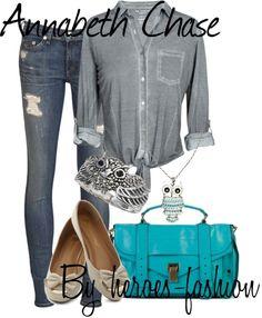 Annabeth Chase - Percy Jackson !! <3