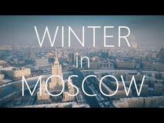 Beautiful WINTER Moscow city Aerial reel/ Зимняя, заснеженная, красивая Москва, аэросъемка - YouTube