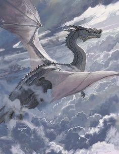 ArtStation - Painterly dragon warm up Alejandro Olmedo Mythical Creatures Art, Magical Creatures, Fantasy Creatures, Fantasy World, Fantasy Art, Design Dragon, Figurine Dragon, Mythical Dragons, Cool Dragons