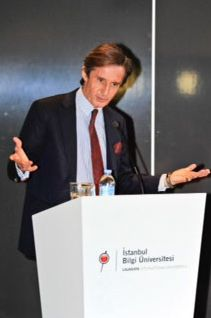 Peter Lautsky-Tieffenthal, UN Under-Secretary-General, visited Istanbul Bilgi University European Institute, and encouraged students to pursue a career with the United Nations. #Education #News #Laureate