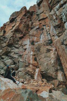 Morro Bay Rock in California