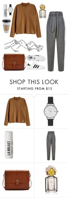 """""""creating"""" by jennifer-dubert on Polyvore featuring H&M, adidas, Olivia Burton, L:A Bruket, Maje, Joules and Marc Jacobs"""