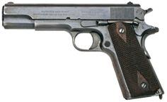 M1911 コルトガバメント アメリカ人の45ACP信仰の元凶。ブローニングが天才すぎるのがいけない。まあ自国の軍隊で制式採用されて弾薬の供給が豊富だから多少はね?信頼性は武器、はっきり分かんだね。