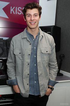 Shawn Mendes at KISS FM UK