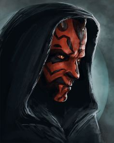 Darth Maul | Would love to cos as Darth Maul & hop on the motorcycle, long billowy cape flying through the wind like the bloodfin