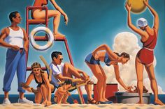 Kenton Nelson, The Day in Order, oil on canvas, 48 x 72 inches