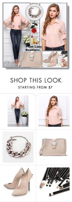 """""""Plum Lake Boutique  5"""" by ramiza-rotic ❤ liked on Polyvore featuring Envi:, MICHAEL Michael Kors and Casadei"""