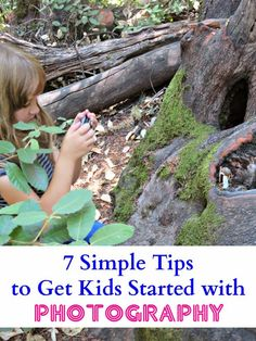 Tips to Get Kids Started With Photography
