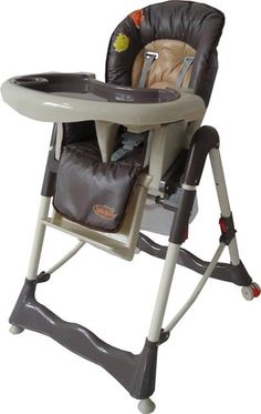 "The brown high chair ""Prince"""